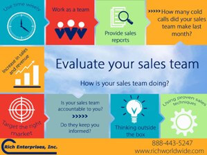 Assess Your Sales Team Infographic